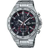 【台南 時代鐘錶 CASIO】卡西歐 EDIFICE 台灣公司貨 EFR-564D-1A 三眼計時賽車風格手錶