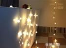 裝飾燈ins女生房間裝飾佈置LED星星燈小彩燈閃燈串燈滿天星房間臥室 蓓娜衣都