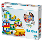 樂高積木 LEGO《 LT45021 》Duplo Education 得寶教育系列 - 我們的小鎮套裝 / JOYBUS玩具百貨
