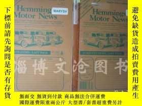 二手書博民逛書店Hemmings罕見Motor News Volume :199