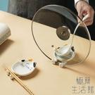 【2個裝】鍋蓋架鍋鏟架一體筷子托勺子置物...