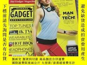 二手書博民逛書店T3罕見The Gadget MagazineY19216