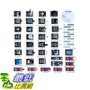 [106美國直購] Elegoo 37-in-1 Sensor Module Kit for Arduino UNO R3, MEGA, NANO