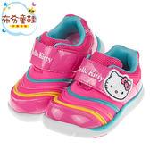 《布布童鞋》HelloKitty凱蒂貓桃色毛毛蟲足弓機能運動鞋(14~18公分) [ C7Y334H ]