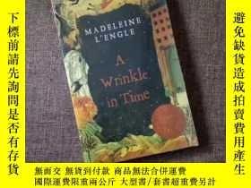 二手書博民逛書店時間的皺紋罕見英文版 A Wrinkle A Wrinkle in Time紐伯瑞文學小說Y469948 紐伯