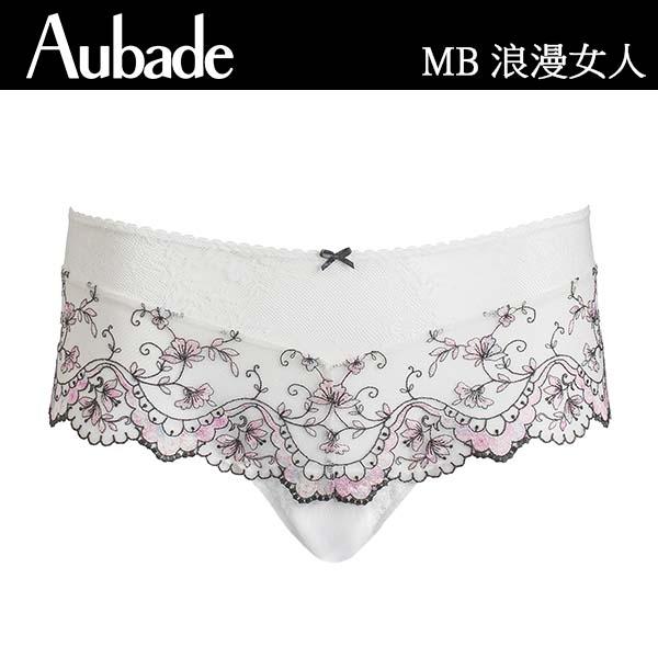 Aubade-浪漫女人B-E水滴薄襯內衣(粉白)MB