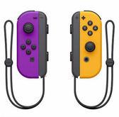 新色彩 公司貨 任天堂 原廠 Switch 手把 紫/橘 switch專用