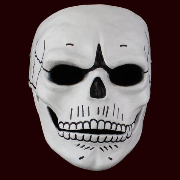 電影主題 007幽靈黨樹脂面具 骷髏臉頭盔道具