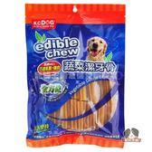 【寵物王國】K.C.DOG G34-3蔬菜潔牙骨-巧達乳酪(起司)+雞肉(短)40入