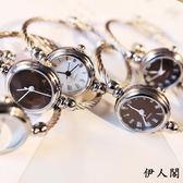 手錶手鐲式女開口中潮流女生鏈條