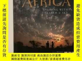 二手書博民逛書店非洲:與天地對話罕見畫冊 Africa:Speaking Wit