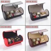 手表盒皮革禮品盒手?盒首飾品戒指收納盒