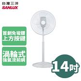 SANLUX 台灣三洋 14吋 DC遙控立扇 電扇 電風扇 EF-P14DH