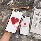 愛心情侶OPPO Find X2 Pro手機殼 毆珀R17/R15/R11鋼化玻璃保護套 Reno4 Pro保護殼 創意OPPO Reno2手機套