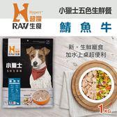 【毛麻吉寵物舖】HyperrRAW超躍 小獵士五色生鮮餐 鯖魚牛口味 1公斤(200克*5替代)