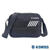 K-SWISS Tw-Shoulder Bag休閒斜背包-黑