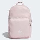 adidas 後背包 Classic Backpack 粉 白 三葉草 男女款 經典款 【ACS】 DU6809