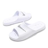 Nike 拖鞋 Victori One Shower Slide 白 排水 洞洞 男鞋 【ACS】 CZ5478-100
