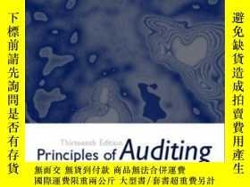 二手書博民逛書店Principles罕見Of Auditing And Other Assurance Services W  E