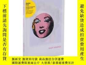 二手書博民逛書店Andy罕見Warhol安迪·沃霍爾 英文原版藝術Y21066 Joseph Ketner Phaidon I