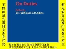 二手書博民逛書店[英文•罕見]西塞羅《論義務》[劍橋政治思想史原著系列]Cicero: On Duties [C
