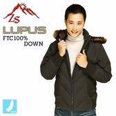ZS Lupus 低調時尚男款羽毛外套