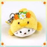 日本 Sirotan 花冠小雞太郎吊飾