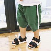 男童短褲夏裝薄款棉麻寬鬆休閒兒童五分褲子寶寶中褲 全館免運