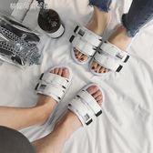 涼鞋 拖鞋男士涼拖一字拖潮夏時尚外穿室外沙灘鞋韓版網紅越南情侶涼鞋 夢露時尚女裝