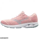 Mizuno Waveknit R2 [J1GD182935] 女鞋 運動 慢跑 避震 耐磨 舒適 美津濃 粉紅