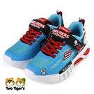 SKECHERS Dr.Seuss 蘇斯博士 燈鞋 發光鞋 中童 藍 NO.R6968(406002LBLBK)