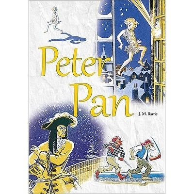Peter Pan彼得潘(原著彩圖版)(25K彩色)