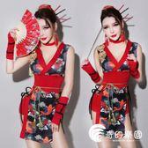 旗袍-舞依芭復古dj女歌手旗袍ds演出服性感成人領舞服cosplay藝妓服裝-奇幻樂園