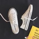 小白鞋夏季薄款透氣網面小白鞋女鞋2021年新款板鞋網鞋蕾絲鏤空帆布鞋子 愛丫 新品