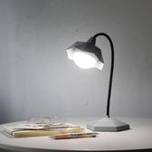 桌燈led護眼檯燈宿舍書桌學習USB充電學生臥室閱讀床頭小夜燈【端午鉅惠】