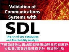 二手書博民逛書店預訂Validation罕見Of Communications Systems With Sdl - The Ar