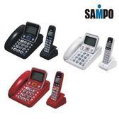 SAMPO聲寶2.4GHz高頻數位無線子母電話 CT-W1304DL(黑、紅、白三色可選) 《刷卡分期+免運費》