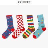 襪子襪子女潮中筒襪堆堆襪韓國原宿日系街頭薄款長筒襪個性彩色ins夏霓裳細軟