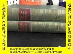 二手書博民逛書店英文原版罕見The Bible DESIGNED TO BE READ AS LITERATURE (1、2)布面