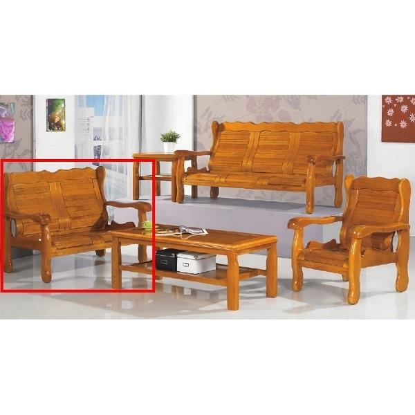 沙發 PK-303-9 503型柚木組椅二人椅(含茶几)【大眾家居舘】