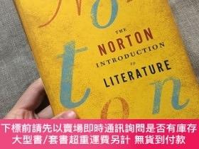 二手書博民逛書店The罕見Norton Introduction to Literature (Portable Eleventh