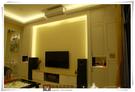 【歐雅系統家具】 氣氛燈光打造『鄉村風電視櫃』