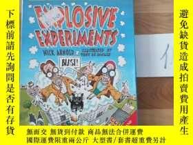 二手書博民逛書店HORRIBLE罕見SCIENCE EXPLOSIVE EXPERIMENTS BOOK AND CARDS PA