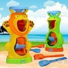 大號沙灘沙漏玩具雙輪兒童沙池決明子戲水玩沙工具幼兒園2-4-6歲 小時光生活館