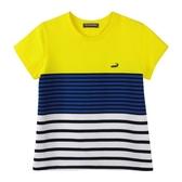 『小鱷魚童裝』撞色條紋T恤(10號~20號)533452