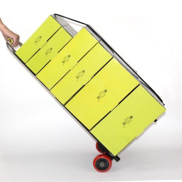 摺疊行李車載重王手拉車搬運車拖車便攜拉貨車拉桿車小拉車手推車wy