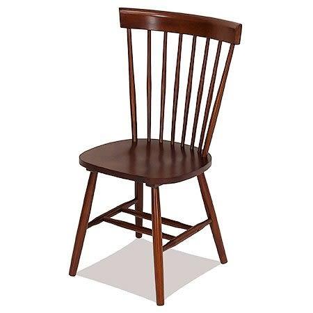 【佧蘿家居館】 美式 高背曲度溫莎椅 餐椅/咖啡廳/民宿/飯店/商業空間/飯店