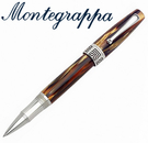 義大利Montegrappa萬特佳 Extra 1930 - 鋼珠筆 (龜殼棕) ISEXTRCW / 支