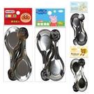 台灣製 304不鏽鋼 兒童湯匙 2入 寶寶湯匙 學習餐具 8090 正版授權