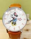 【震撼精品百貨】米奇/米妮_Micky Mouse~香港迪士尼米奇限定手錶-咖啡米妮#07735